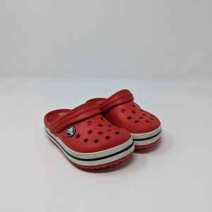 CROCS Classic Red Children's Size 8/9C
